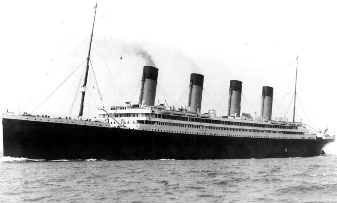 RMS Olympic on her Sea Trials 29 May 1911